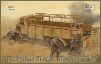 1/35 IBG 3Ro Italian Truck Troop Carrier