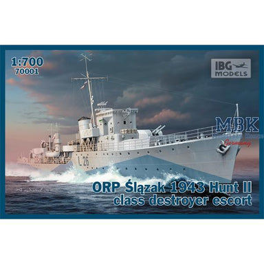 1/700 IBG ORP Slazak 1943 Hunt II Class Destroyer
