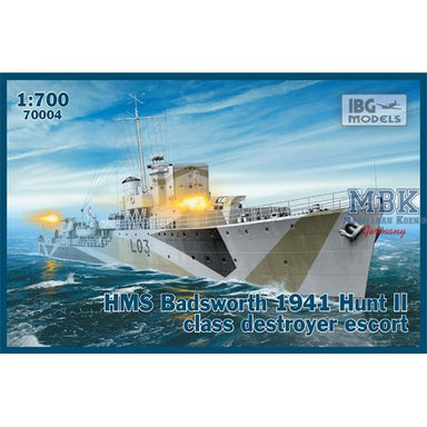 1/700 IBG HMS Badsworth 1941 Hunt II Class Destroyer