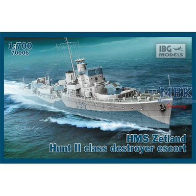 1/700 iBG HMS Zetland 1942 Hunt II Class Destroyer