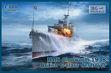 1/700 IBG HMS Glowworm 1938 British G-Class Destroyer