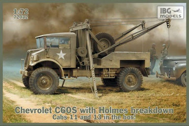 1/72 IBG Chevrolet C60S No.13/11 Cab with Holmes