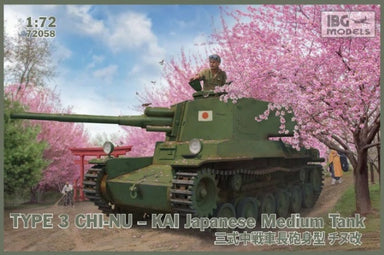 1/72 IBG Type 3 Chi-Kai Japanese Medium Tank