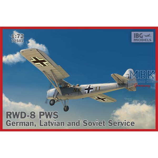 1/72 IBG RWD-8 PWS – German, Latvian and Soviet Service