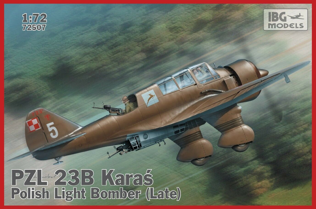 1/72 IBG PZL.23B Karas - Late Production
