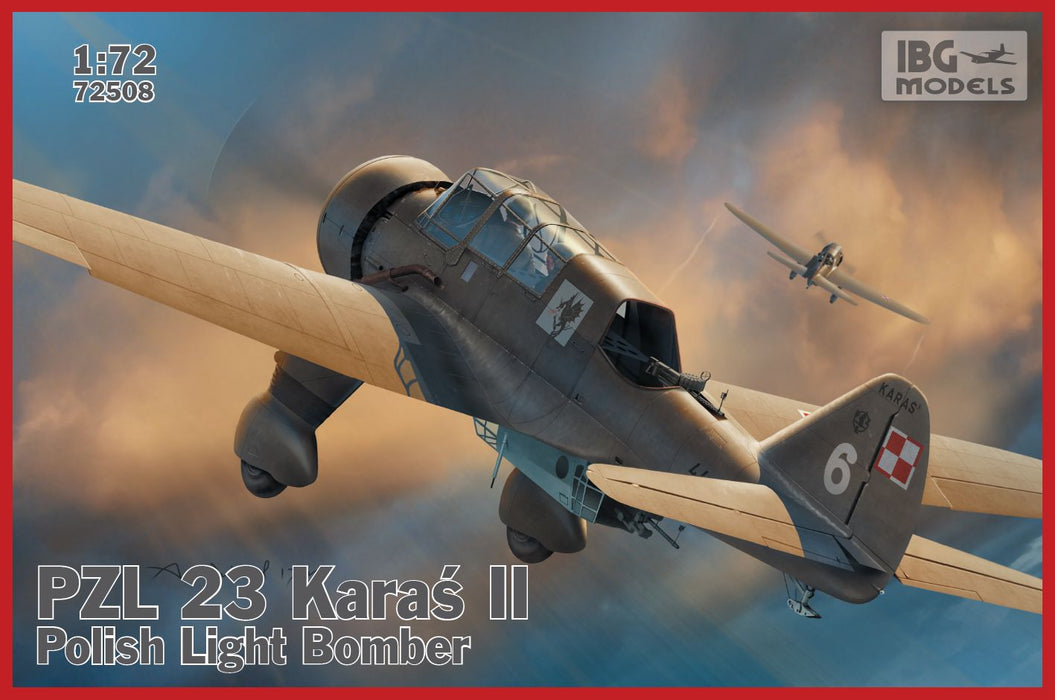 1/72 IBG PZL.23 Karas II - Polish Light Bomber