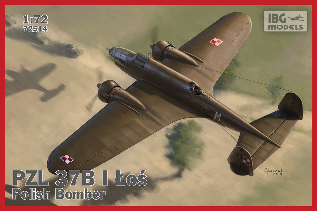 1/72 IBG PZL.37 B I Los - Polish Medium Bomber