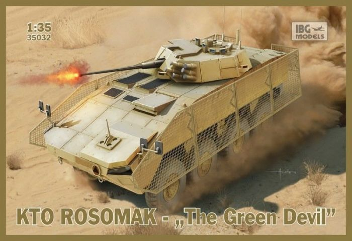 "1/35 IBG KTO Rosomak ""The Green Devil"""