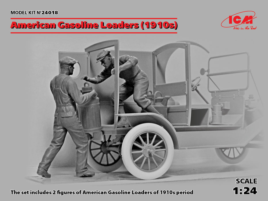 1/24 ICM American Gasoline Loaders (1910's)