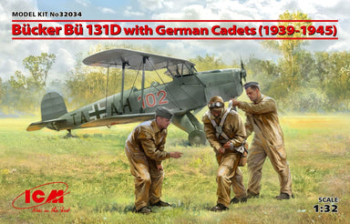 1/32 ICM Bucker Bu 131D with German Cadets (1939-1945)