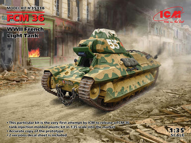 1/35 ICM FCM 36 WWII French Light Tank