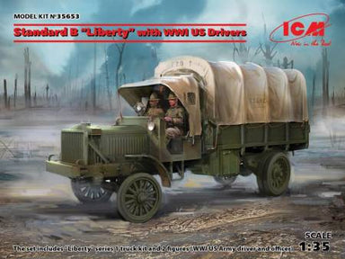"1/35 ICM Standard B ""Liberty"" with WWI US Drivers"