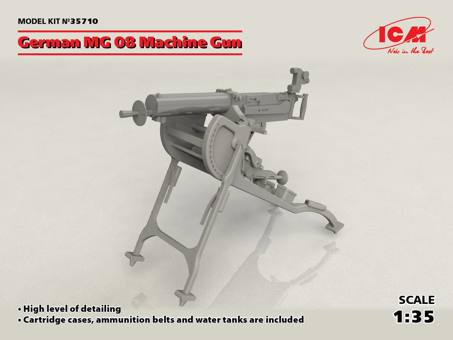 1/35 ICM German MG08 Machine Gun