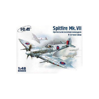 1/48 ICM Spitfire Mk. VII WWII British Fighter