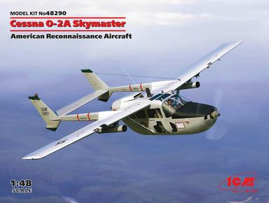 1/48 ICM Cessna O-2A Skymaster, American Reconnaissance Aircraft