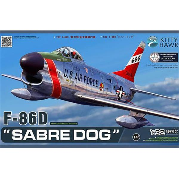 1/32 Kitty Hawk F-86D Sabre Dog