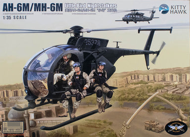 1/35 Kitty Hawk AH-6M/MH-6M Little Bird
