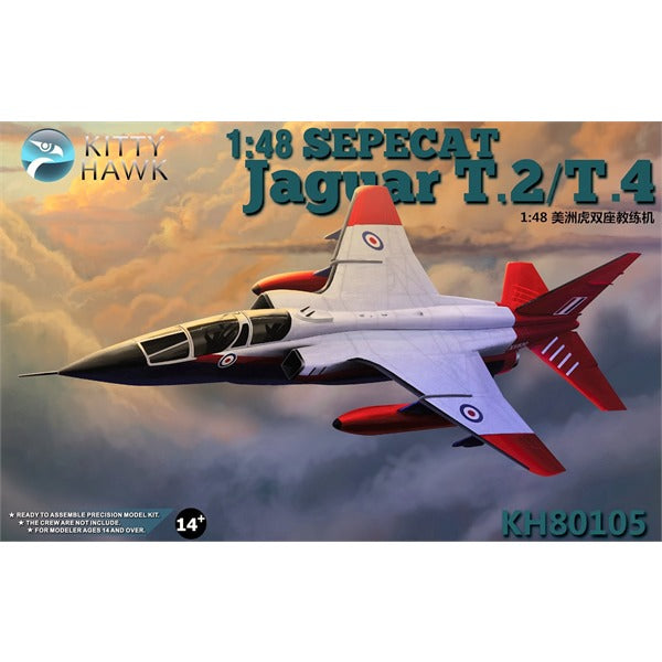 1/48 Kitty Hawk Sepecat Jaguar T.2/T.4