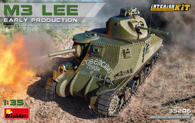 1/35 MiniArt M3 Lee Early Production,  Interior Kit