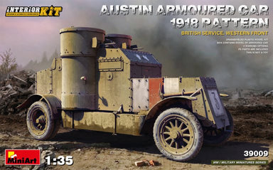1/35 Miniart Austin Armored Car 1918 Pattern. British Service Western Front Interior Kit