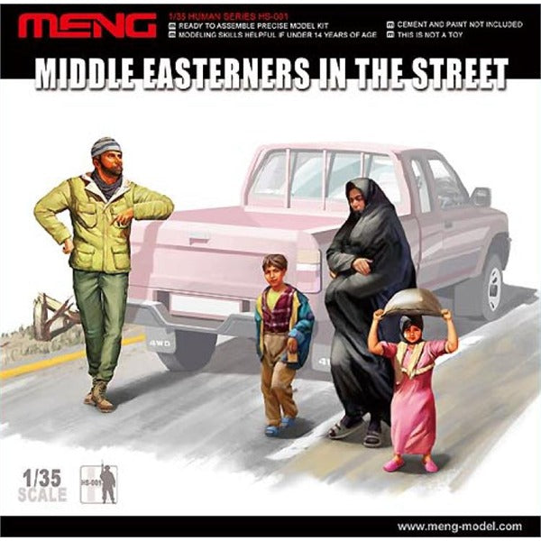 1/35 Meng Middle Easterners in the Street