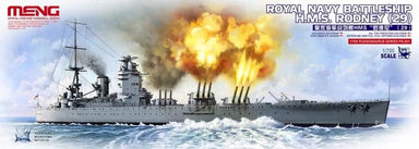 1/700 Meng Royal Navy Battleship H.M.S.Rodney