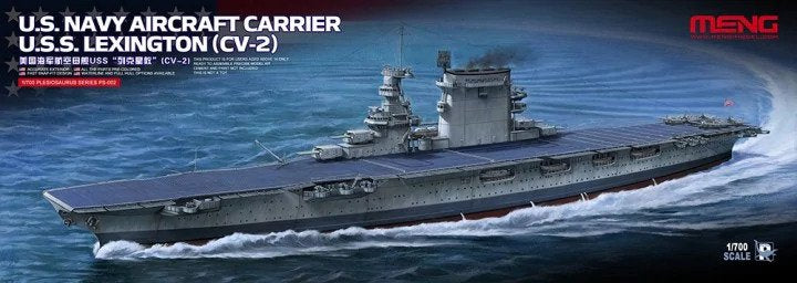 1/700 Meng U.S. Navy Aircraft Carrier U.S.S. Lexington