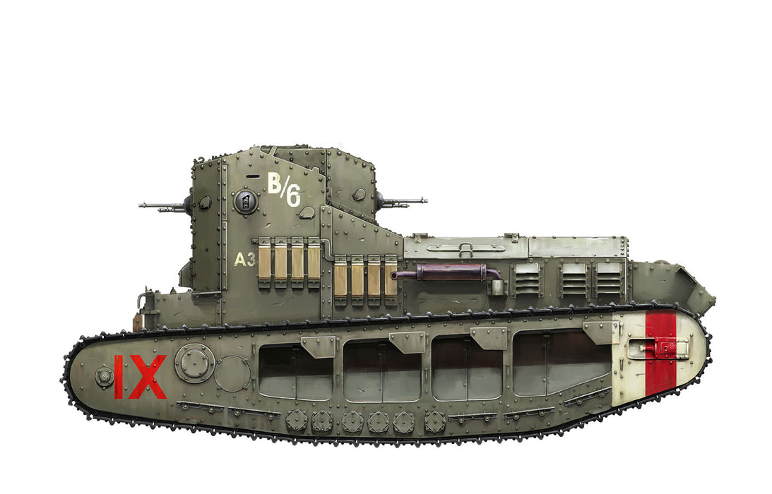 1/35 Meng British Medium Tank Mk.A Whippet