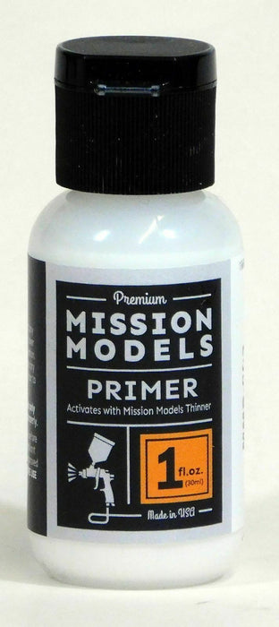 Mission Models 002 - White Primer