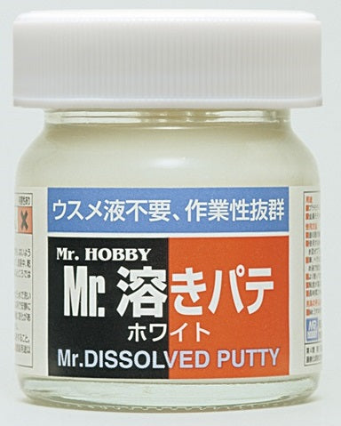 Mr. Hobby Mr. Dissolved White Putty - 40ml