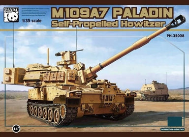 1/35 Panda Hobby M109A7 Paladin SPH with Metal Track Link