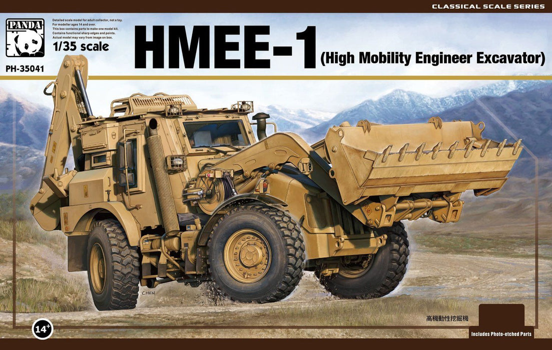 1/35 Panda Hobby HMEE-1 High Mobility Engineer Excavator