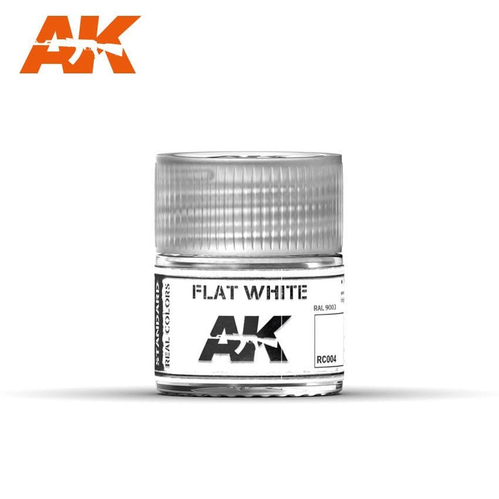 AK Interactive Real Colors : Flat White 10ml