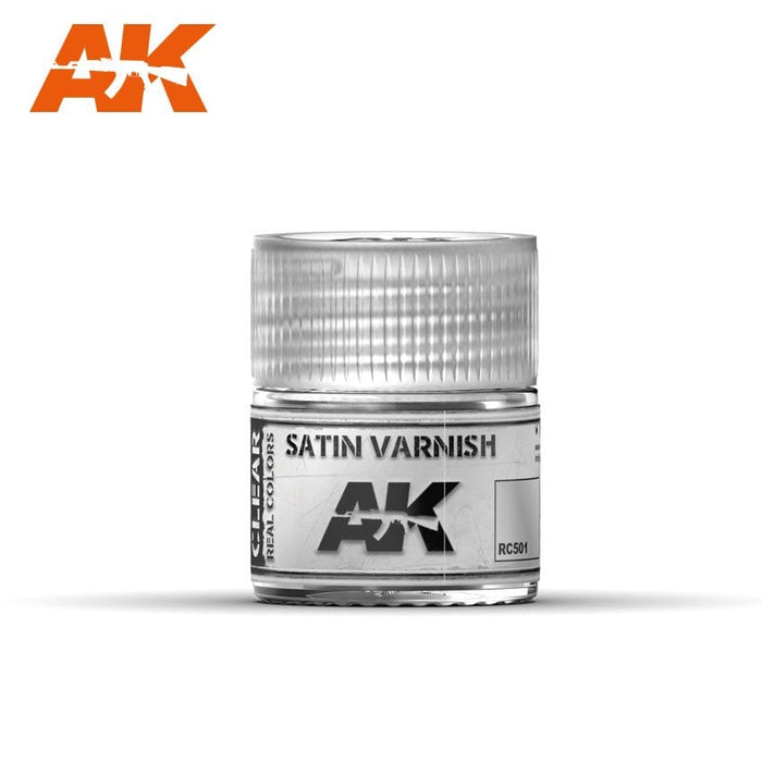 AK Interactive Real Colors: Satin Varnish 10ml