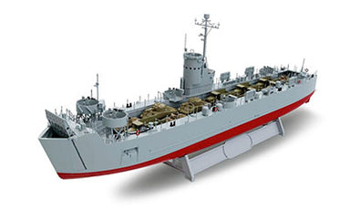 1/144 Revell U.S. Navy Landing Ship Medium (Early)