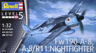 1/32 Revell Focke Wulf Fw190A-8, A-8/R11 Nightfighter