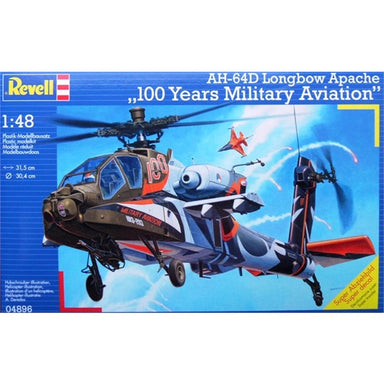 1/48 Revell AH-64D Longbow Apache 100 Years Military Aviation