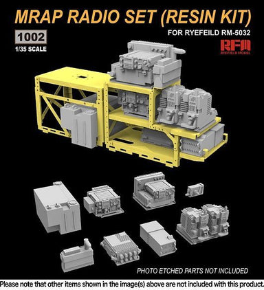 1/35 Rye Field Models MRAP Radio Set (Resin Kit)