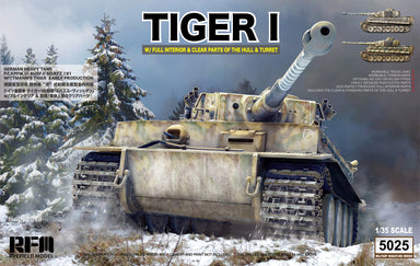 1/35 Rye Field Model Tiger I Witmann full interior - Clear Edition