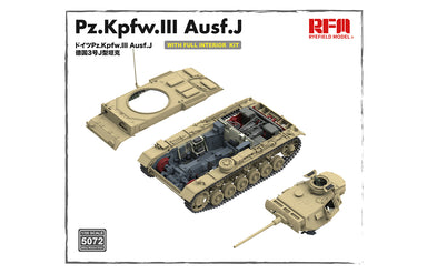 1/35 Rye Field Model Pz.Kpfw. III Ausf. J w/Full Interior