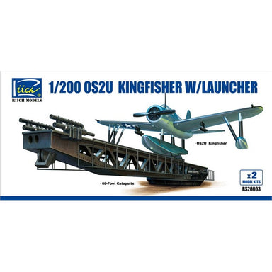 1/200 Riich OS2U-43 Kingfisher w/ Launcher