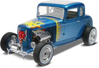 1/25 Revell 1932 Ford 5 Widow Coupe 2in1