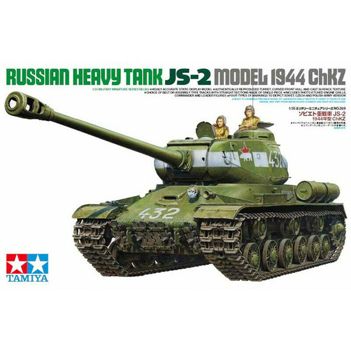 1/35 Tamiya Russian Heavy Tank JS-2 Model - 1944 ChKZ