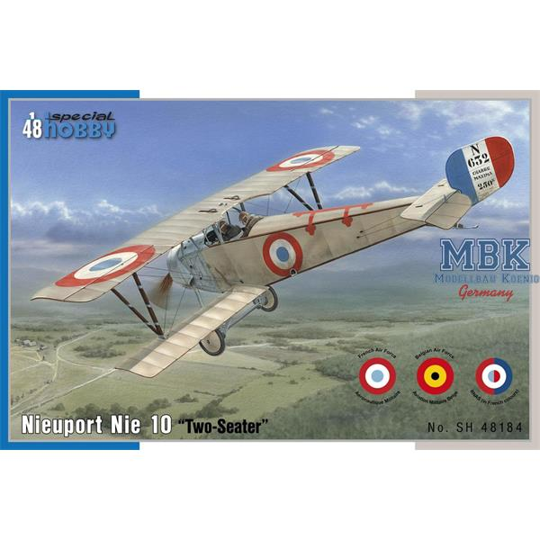 "1/48 Special Hobby Nieuport 10 ""Two Seater"""
