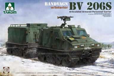 1/35 Takom Bandvagn Bv 206S Articulated APC with Interior