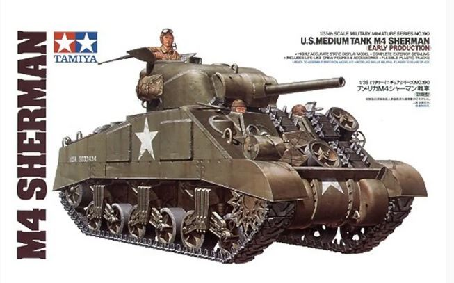 1/35 Tamiya U.S. M-4 Sherman Early Version