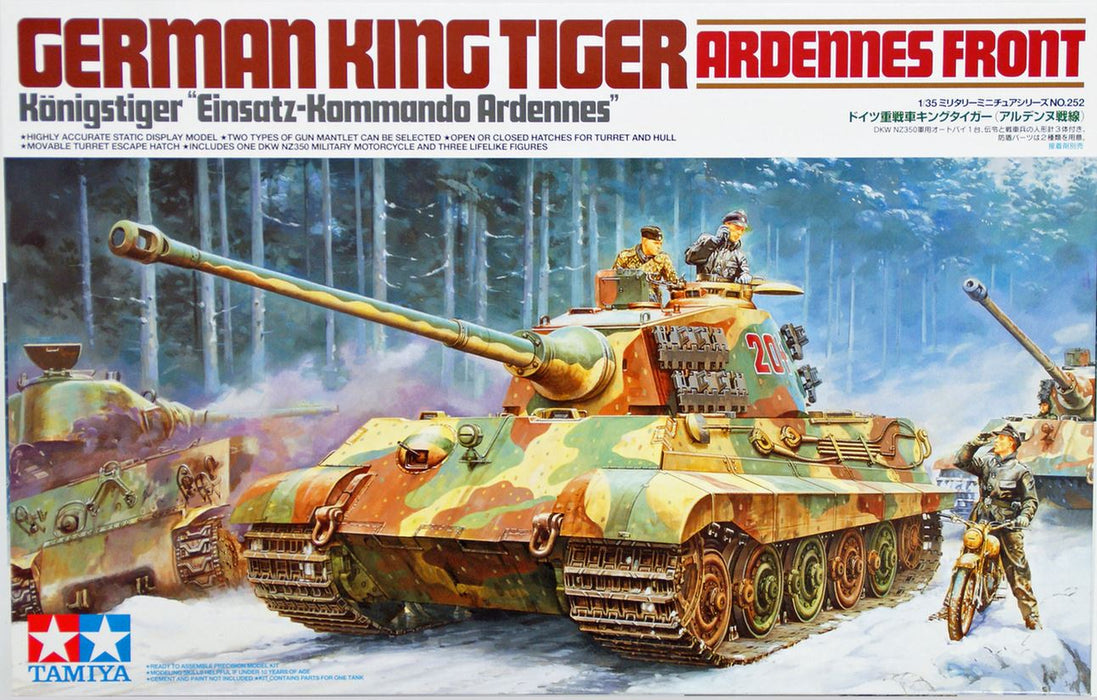 1/35 Tamiya German King Tiger  - Ardennes Front