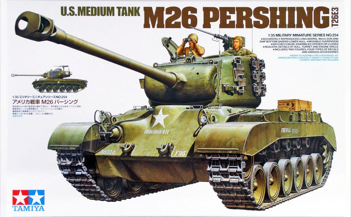 1/35 Tamiya U.S. M26 Pershing - 90mm