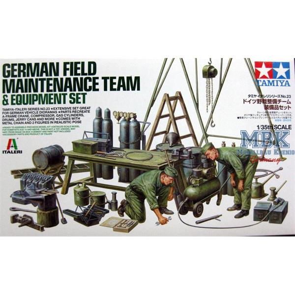 1/35 Tamiya German Field Maintenance Team