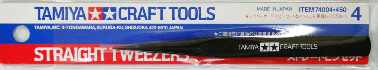 Tamiya Straight Tweezers